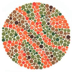 Prueba de daltonismo - Carta de Ishihara 19