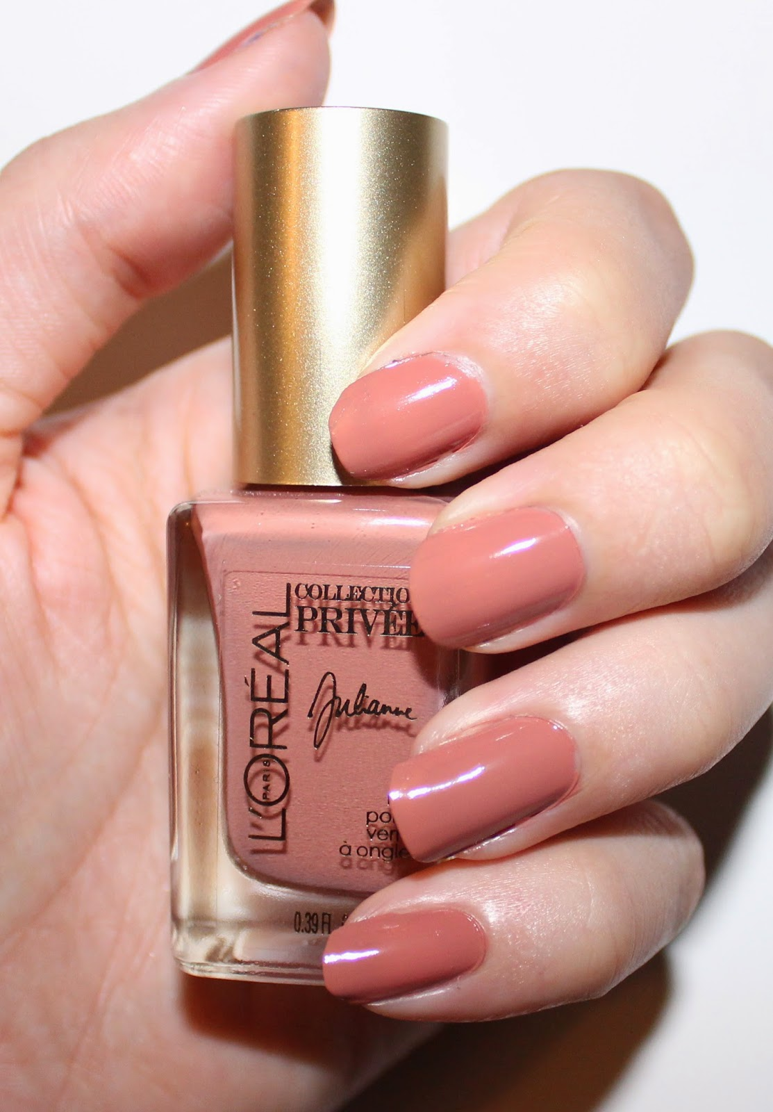 L'Oréal Collection Privée Exclusive Nudes Nail Polishes Julianne