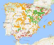 Lugares de Interés Geológico en España
