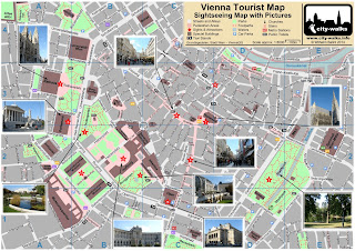 Vienna Tourist Map