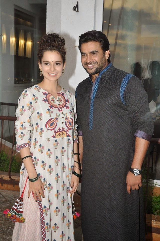 Kangna Ranaut and R Madhavan promote 'Tanu Weds Manu Returns'