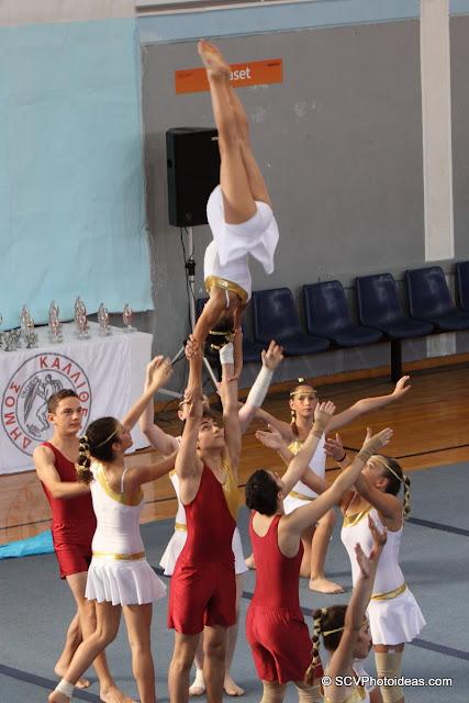 Rhythmic Acrobatic Gymnastics - vertical