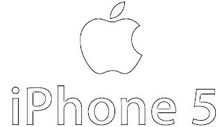 Apple iPhone 5 Logo Sketch