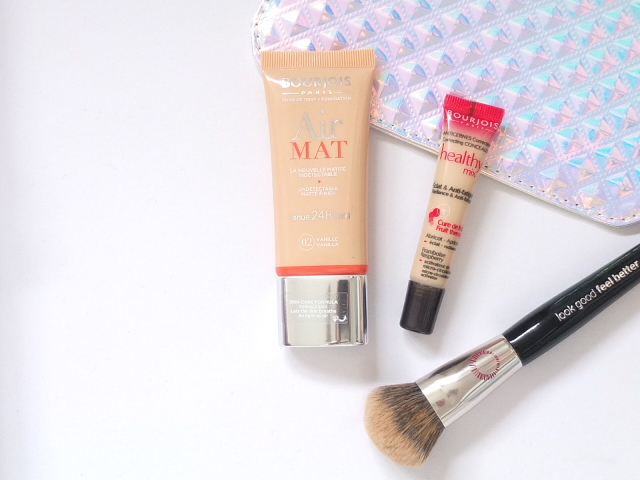 Bourjois Air Mat Foundation and Healthy Mix Concealer