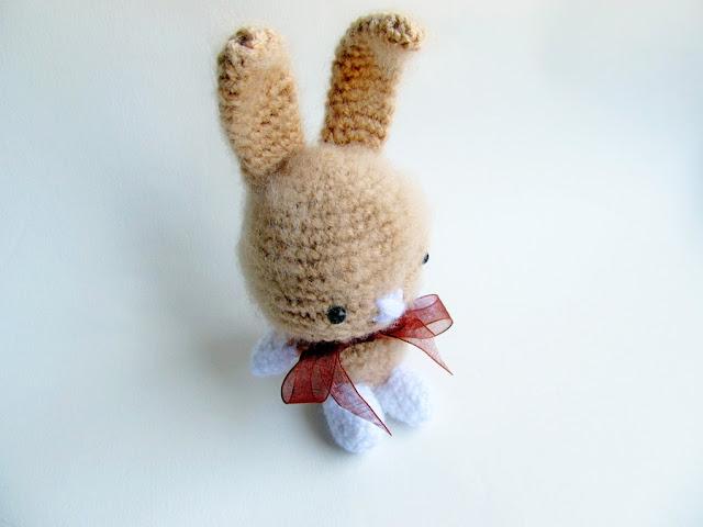 Amigurumi Rabbit Pattern : {Amigurumi Sweet Bunny Pattern} - Little Things Blogged