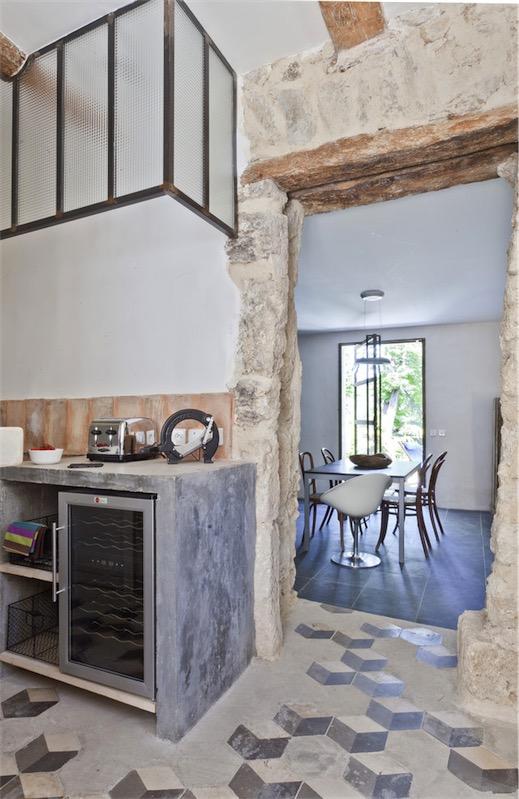 casa con decoración vintage en la Provenza francesca