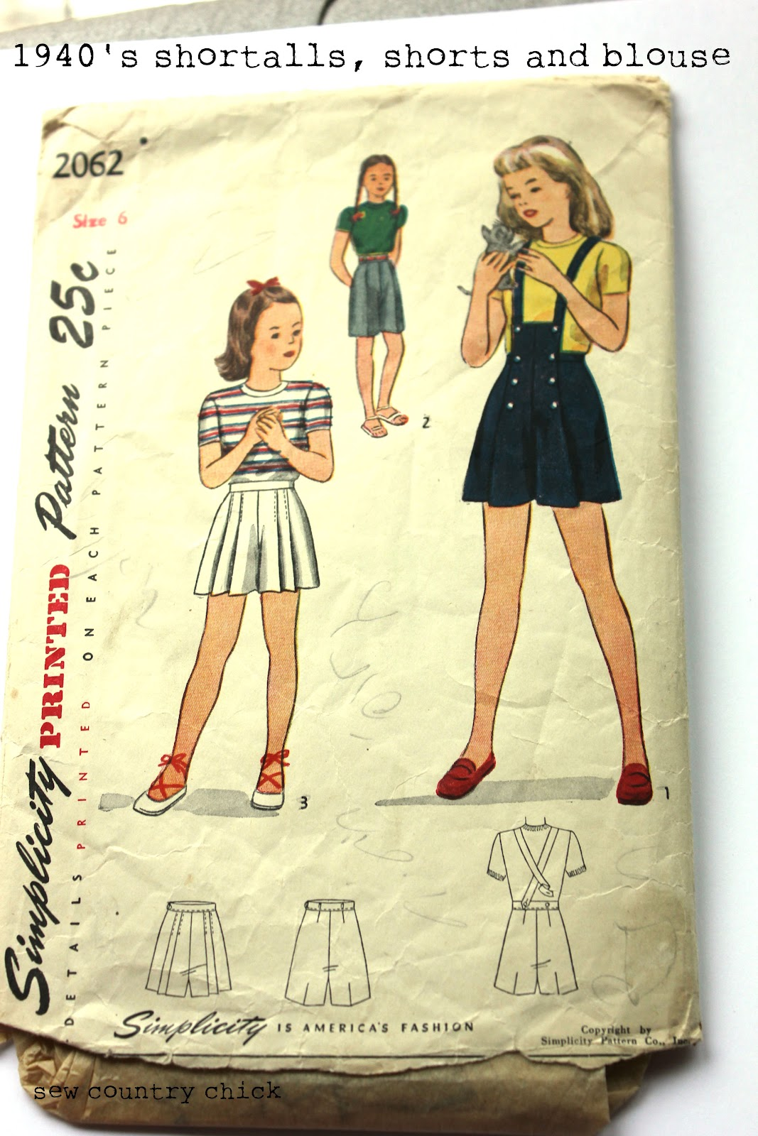 My 1940s kids sewing patterns summer sportswear jeuxipadfo Images