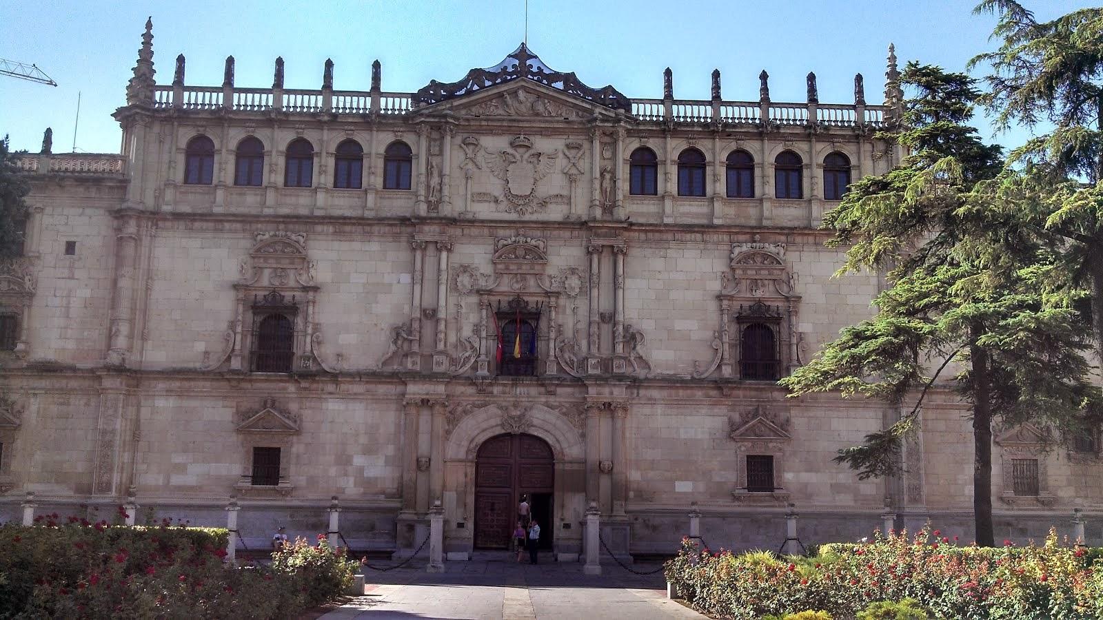 REITORIA DA UNIVERSIDADE DE  ALCALÁ DE HENARES