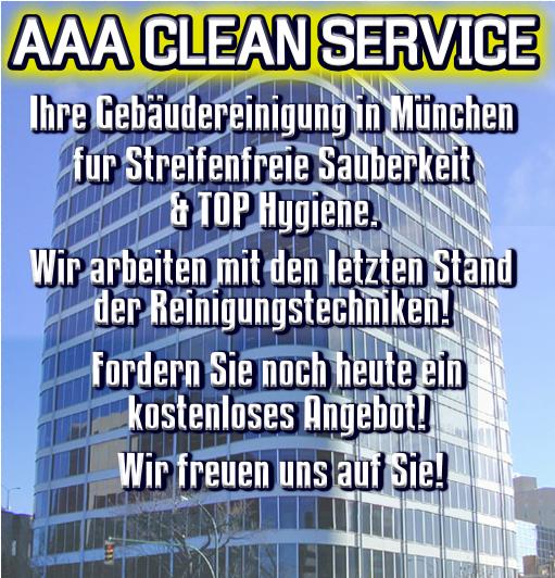 Professionelle Gebäudereinigung München