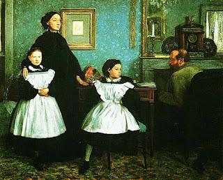 Эдгар Дега. Семья Беллелли. 1858 — 1862.