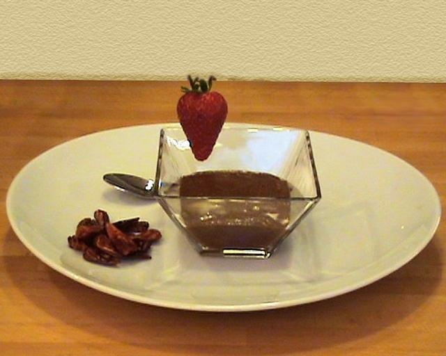 san valentino!!! mousse di cioccolato al peperoncino!!! - light, velocissima ma soprattutto vibrante!!!