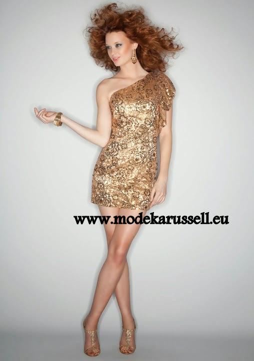 Abendkleid gold kaufen