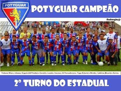 Potyguar - Cn Campeão 2° turno do estadual 2009