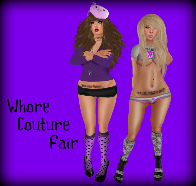 Whores Kis & Kimbra Go To Whore Couture Fair