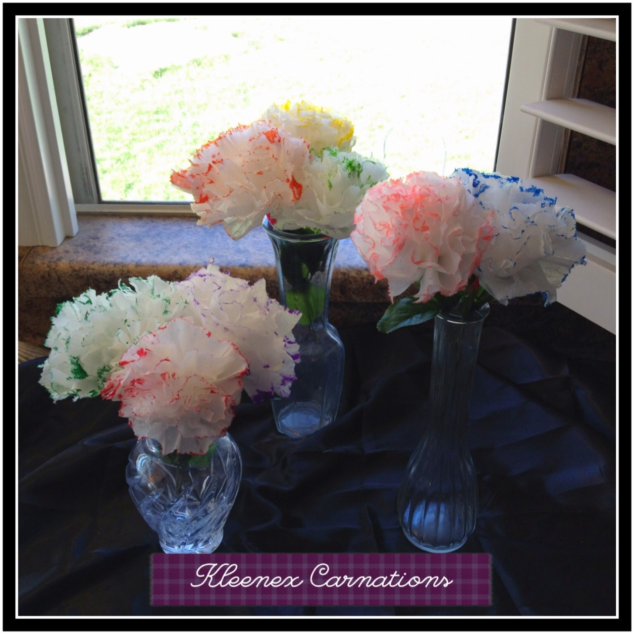 Mama Drama Diy Quick And Pretty Carnations From Kleenex