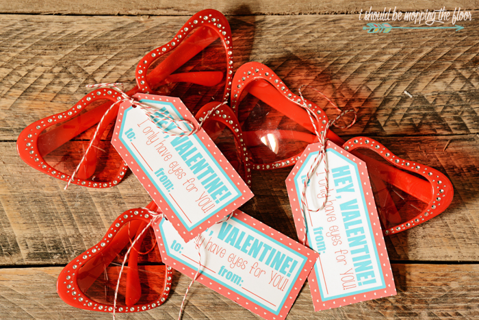 Free Printable Fun Glasses Valentines