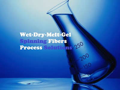 Wet-Dry-Melt-Gel Spinning Fibers Process Solutions