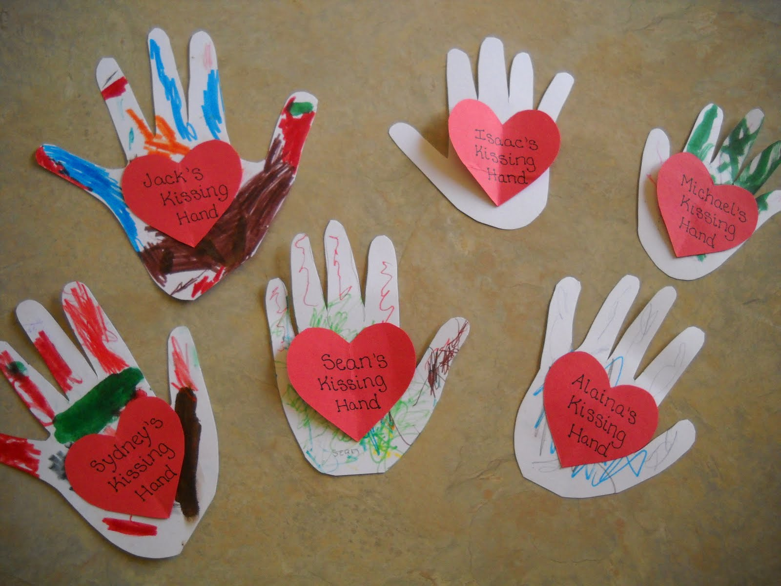 Valentine Crafts For Pre K