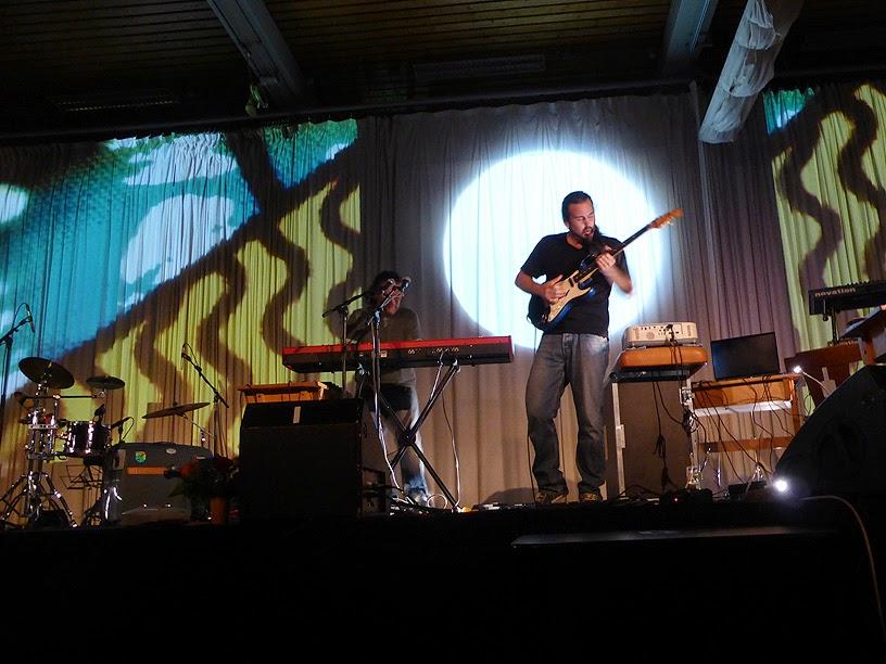 Tri-O (Alessandro Mazza, Diego Mune, Leo Hemetsberger) @ More Ohr Less Festival 2014 / photo S. Mazars