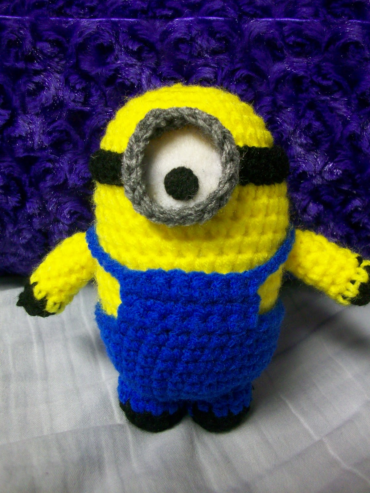 Free Pattern Crochet Minion : Free Minion Crochet Patterns In Purple Auto Design Tech