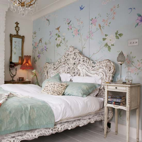 feminine romantic bedroom decorating ideas