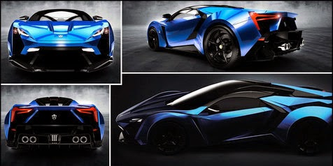 Brother Arab Luxury Supercar! The Mysterious Lykan Supersport!