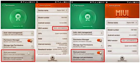 Tutorial Cara Root dan Unroot Xiaomi Redmi 1S