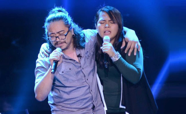 Watch Joniver Robles vs Dang del Rosario of Team Bamboo's The Voice Final Battle Rounds December 20
