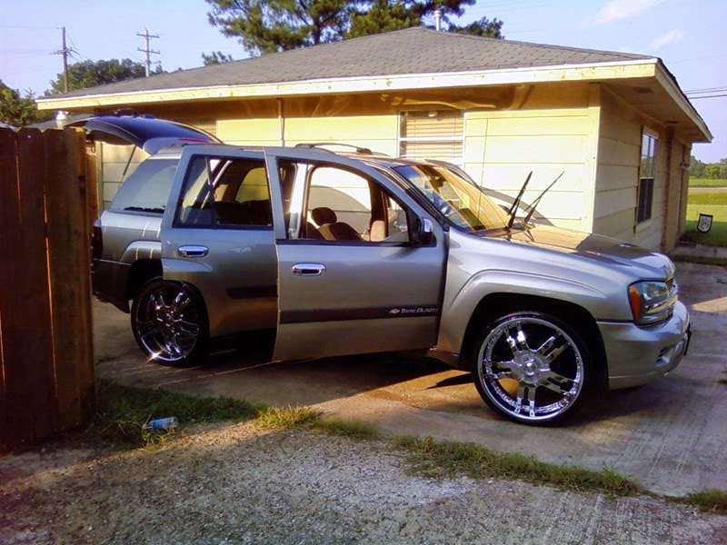 Foto Modifikasi Mobil Chevrolet Trailblazer