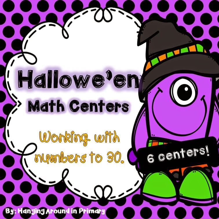 http://www.teacherspayteachers.com/Product/Halloween-Math-Centers-for-Number-to-30-1482560