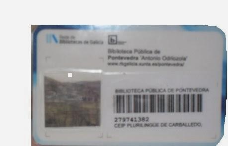 SOMOS SOCIOS DA BIBLIOTECA NODAL DE PONTEVEDRA