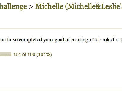 Reading Challenge Completed + Michelle's 2013 Favorites
