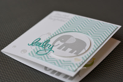 Stampin Up +Zoo Babies