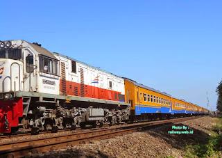 Kereta Api Kertajaya Tambahan, KA Penumpang Terpanjang di Indonesia