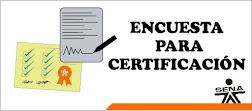 Encuesta para Certificación