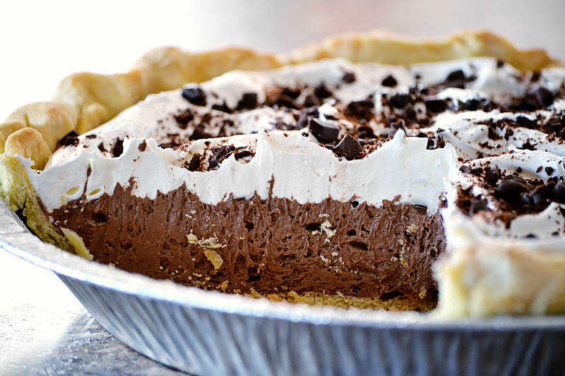 Kitchen Full of Sunshine: French Silk Chocolate Pie