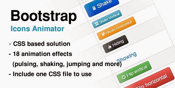 Bootstrap Icons Animator