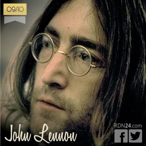 09 de octubre | John Lennon - @johnlennon | Info + vídeos