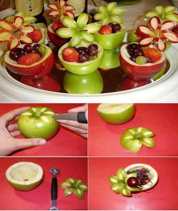 Home Decor Fruit Salad Design
