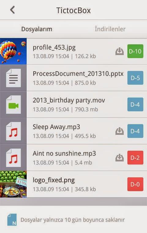 Android Tictoc Apk resimi