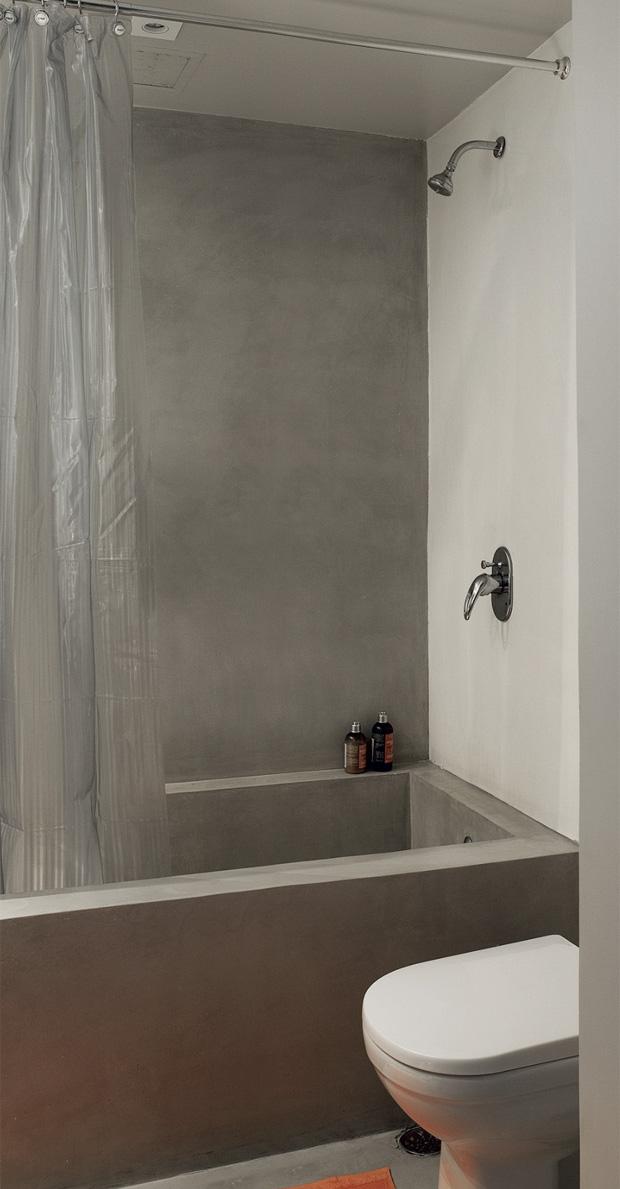 Eu moraria aqui 19 banheiros pequenos  dos mais simples aos rebuscados! -> Banheiro Pequeno Com Banheira De Alvenaria