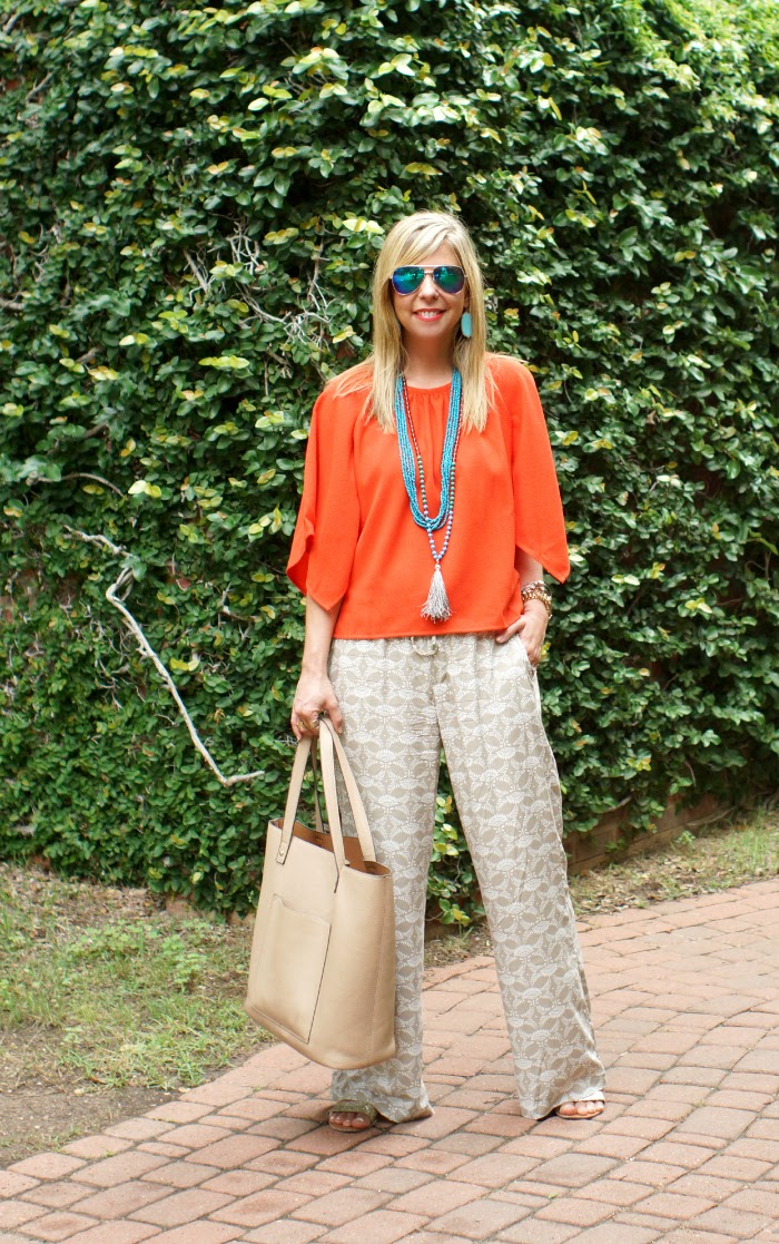 Printed Drawstring Pants Old Navy Style