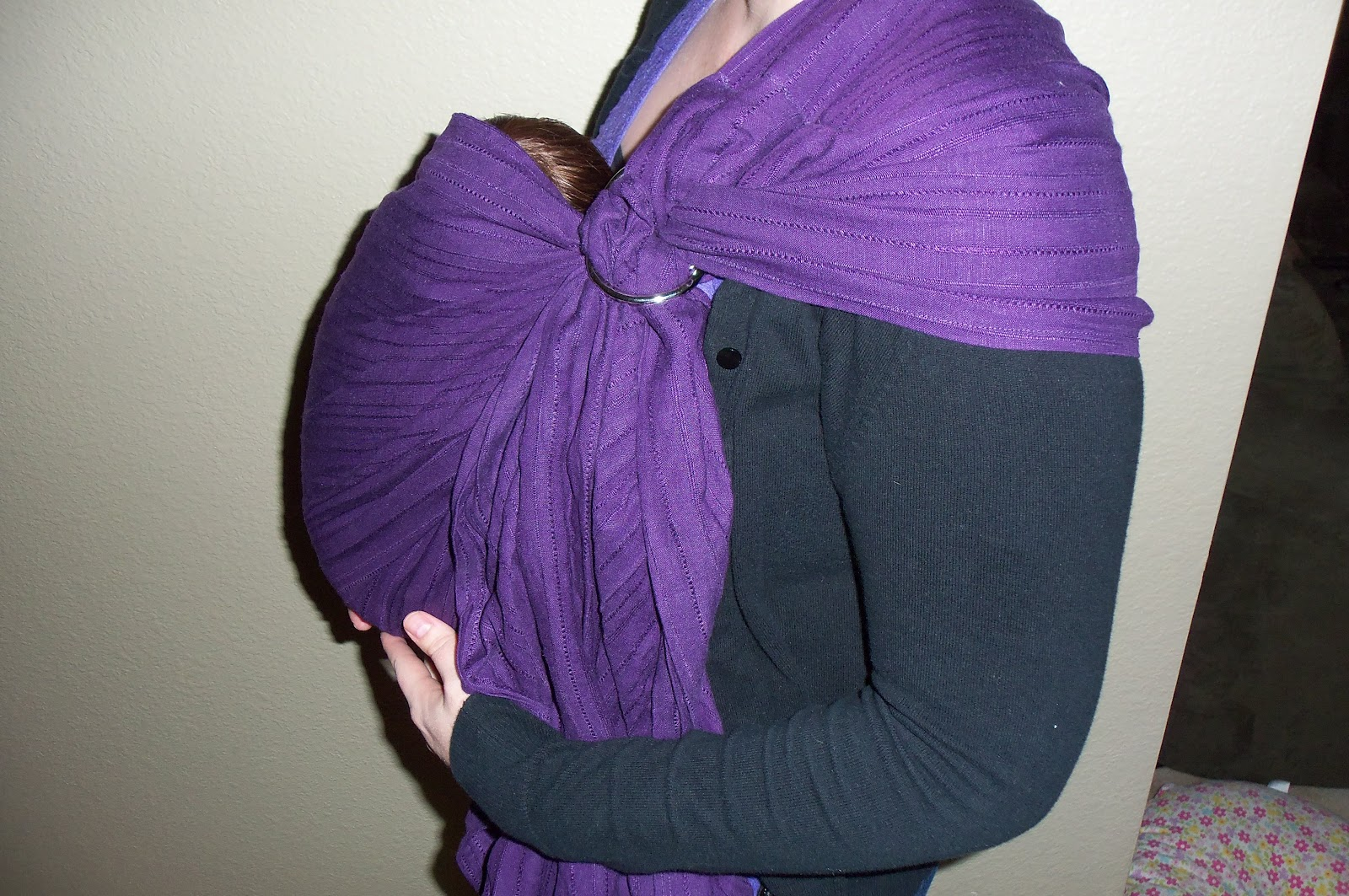 baby sling wrap instructions