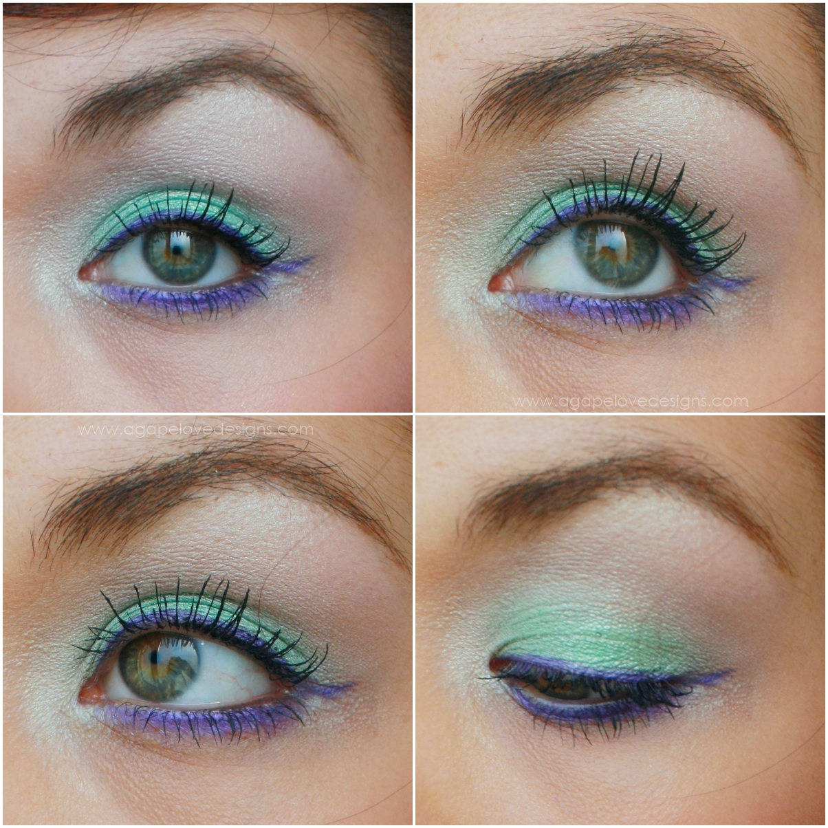 Agape Love Designs: The Little Mermaid, Ariel, Inspired Makeup