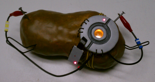 glados portal 2 potato - photo #13