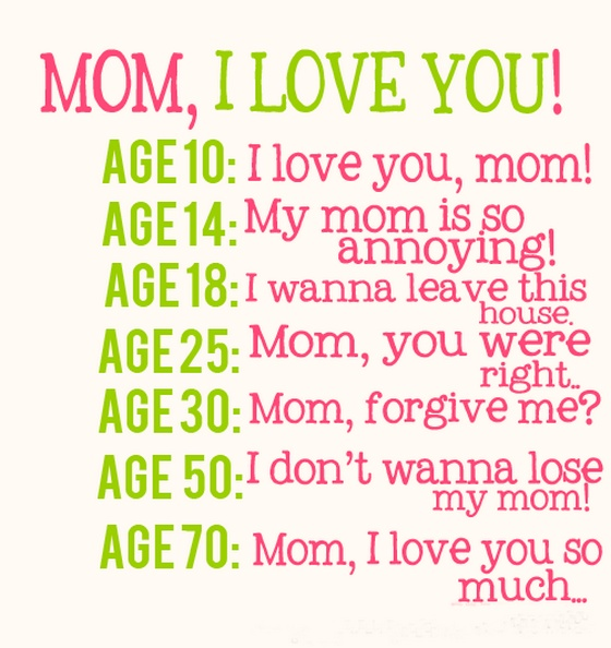 Mom i love you i dont wanna lose my mom sayings es pictures