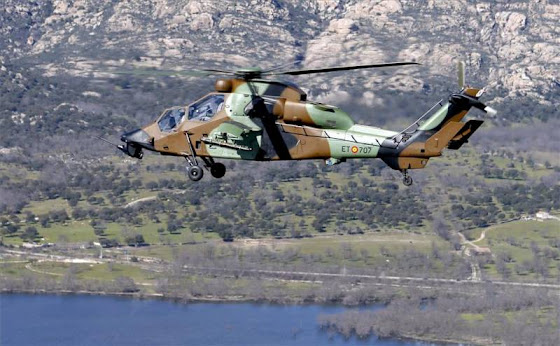 Eurocopter Tiger HA-28 HAD helicopter