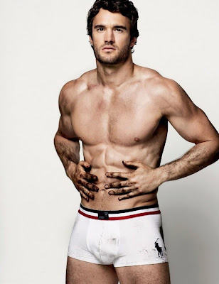 Thom Evans by Cameron McNee for Attitude Magazine