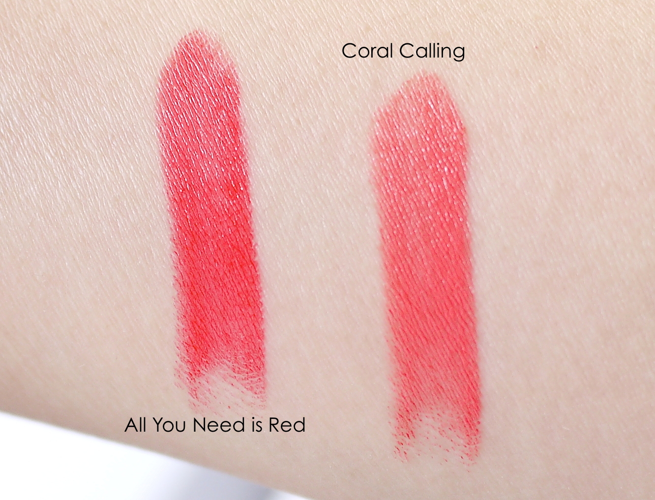 Essence long lsating lipstick all you need is red coral  calling review
