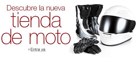 Enlace a la nueva tienda de artículos para la moto de Amazon